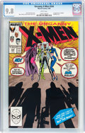 Modern Age (1980-Present):Superhero, X-Men #244 (Marvel, 1989) CGC NM/MT 9.8 White pages....