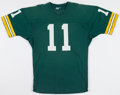 Football Collectibles:Uniforms, 1980 David Beverly Game Worn Green Bay Packers Jersey....