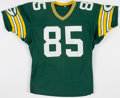 Football Collectibles:Uniforms, 1984-85 Phil Epps Game Issued Green Bay Packers Jersey....