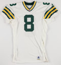 Football Collectibles:Uniforms, 1995 Mark Brunell Game Issued Green Bay Packers Jersey....