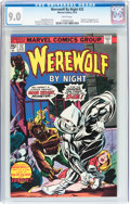 Bronze Age (1970-1979):Horror, Werewolf by Night #32 (Marvel, 1975) CGC VF/NM 9.0 White pages....