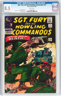 Silver Age (1956-1969):War, Sgt. Fury and His Howling Commandos #31 (Marvel, 1966) CGC VF+ 8.5 White pages....