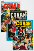 Bronze Age (1970-1979):Adventure, Conan the Barbarian Group (Marvel, 1970-75) Condition: Average FN+.... (Total: 33 Comic Books)