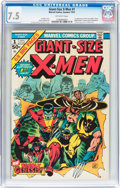 Bronze Age (1970-1979):Superhero, Giant-Size X-Men #1 (Marvel, 1975) CGC VF- 7.5 Off-white pages....