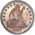 Proof Seated Quarters, 1857 25C PR66 NGC....