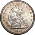 Seated Half Dollars, 1878-S 50C WB-101, Die Pair 1, R.5, AU55 PCGS Secure....