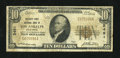 National Bank Notes:California, Los Angeles, CA - $10 1929 Ty. 1 Security-First NB Ch. # 2491. ...