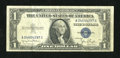 Error Notes:Skewed Reverse Printing, Fr. 1613n $1 1935D Silver Certificate. Very Fine.. ...