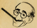 Animation Art:Production Drawing, You Bet Your Life Groucho Marx Concept Art Animation ArtGroup (Playhouse Pictures, 1950).... (Total: 3 Original Art)