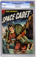 Golden Age (1938-1955):Science Fiction, Tom Corbett Space Cadet #11 File Copy (Dell, 1954) CGC NM 9.4 Creamto off-white pages....