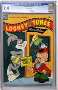 Golden Age (1938-1955):Cartoon Character, Looney Tunes and Merrie Melodies Comics #145 File Copy (Dell, 1953)CGC NM 9.4....