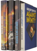 Books:Signed Editions, Gregory Benford Signed First Editions.... (Total: 4 Items)