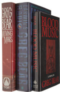 Books:Signed Editions, Greg Bear Three Signed First Editions.... (Total: 3 Items)