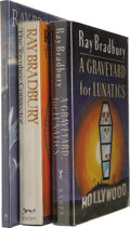 Books:Signed Editions, Ray Bradbury Signed First Editions.... (Total: 3 Items)