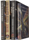 Books:Signed Editions, Lois McMaster Bujold Four Signed First Editions.... (Total: 4 Items)