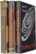 Books:First Editions, John W. Campbell, Jr. Three First Editions.... (Total: 3 Items)