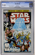 Modern Age (1980-Present):Science Fiction, Star Wars #74 (Marvel, 1983) CGC NM/MT 9.8 White pages....