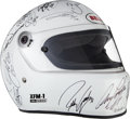 Miscellaneous Collectibles:General, 2002 Bell Helmet Signed by Indianapolis 500 Starting Field....