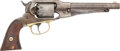 Handguns:Double Action Revolver, Remington-Rider New Model Double Action Belt Revolver....