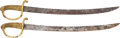 Edged Weapons:Swords, Pair of French Model 1804 Cutlasses by Klingenthal.... (Total: 2Items)
