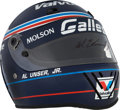 Miscellaneous Collectibles:General, 1992 Al Unser Jr. Signed Galles Replica Helmet....