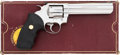Handguns:Double Action Revolver, Boxed Colt King Cobra Ultimate Bright Stainless Double Action Revolver....