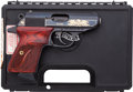 Handguns:Semiautomatic Pistol, Cased Walther Talo Royal Eagle Model PPK/S-1 Semi-Automatic Pistol....