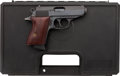 Handguns:Semiautomatic Pistol, Cased Engraved Walther 75th Anniversary PPK Semi-AutomaticPistol....