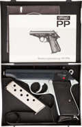 Handguns:Semiautomatic Pistol, Cased Walther Model PP Semi-Automatic Pistol....
