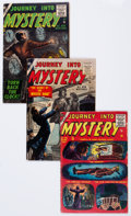 Golden Age (1938-1955):Horror, Journey Into Mystery 33-35 Group (Marvel, 1956) Condition: AverageVG.... (Total: 3 Comic Books)