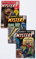 Golden Age (1938-1955):Horror, Journey Into Mystery 24, 27, and 30 Group (Marvel, 1955-56)Condition: Average VG.... (Total: 3 Comic Books)