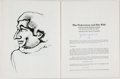 Books:Periodicals, [Periodical]. John Updike, contributor. SIGNED. The Texas ArtsJournal. Number One. [Cameron Northouse, 1977]. Sig...