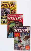 Golden Age (1938-1955):Horror, Journey Into Mystery #26, 28, and 31 Group (Marvel, 1955-56)Condition: Average GD/VG.... (Total: 3 Comic Books)