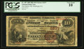 National Bank Notes:Pennsylvania, Pittsburgh, PA - $10 1882 Brown Back Fr. 487 The Marine NB Ch. #(E)2237. ...