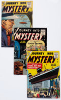 Golden Age (1938-1955):Horror, Journey Into Mystery #23-25 Group (Marvel, 1955) Condition: AverageGD/VG.... (Total: 3 Comic Books)