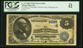 National Bank Notes:Pennsylvania, Pittsburgh, PA - $5 1882 Value Back Fr. 574 The Bank of Pittsburgh,National Assoc Ch. # (E)5225. ...