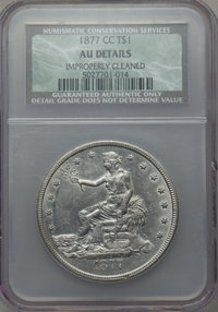 1877-CC T$1 -- Improperly Cleaned -- NCS. AU Details. NGC Census: (2/101). PCGS Population (3/127). Mintage: 534,000. Nu...