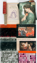 Miscellaneous:Ephemera, [Miscellaneous]. Group of Eight Items Related to thePre-Raphaelites. Includes booklets, miniature books, greetingcards, an... (Total: 6 Items)