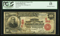 National Bank Notes:Pennsylvania, Pittsburgh, PA - $10 1902 Red Seal Fr. 613 The Second NB Ch. #(E)252. ...