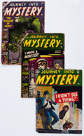 Golden Age (1938-1955):Horror, Journey Into Mystery Group (Marvel, 1952-56) Condition: AverageFR.... (Total: 8 Comic Books)