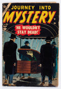 Golden Age (1938-1955):Horror, Journey Into Mystery #18 (Marvel, 1954) Condition: VG-....