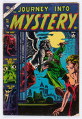 Golden Age (1938-1955):Horror, Journey Into Mystery #14 (Marvel, 1953) Condition: GD/VG....