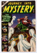 Golden Age (1938-1955):Horror, Journey Into Mystery #13 (Marvel, 1953) Condition: GD/VG....