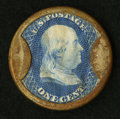 Encased Postage: , HB-28 EP-4A 1¢ Ayer's Sarsaparilla Medium Ayer's Extremely Fine.....