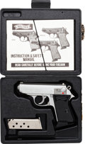 Handguns:Semiautomatic Pistol, Cased Walther PPK Semi-Automatic Pistol....