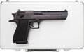 Handguns:Semiautomatic Pistol, Cased Magnum Research Desert Eagle Mark XIX Semi-Automatic Pistol....