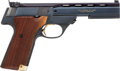 Handguns:Semiautomatic Pistol, High Standard The Victor Model Semi-Automatic Pistol....