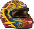 Miscellaneous Collectibles:General, 1996 Brad Marvel Race Worn Helmet....