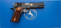 Handguns:Semiautomatic Pistol, Boxed Colt Talo Sovereign Government Model XSE Semi-AutomaticTarget Pistol....