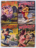 Pulps:Science Fiction, Thrilling Wonder Stories Box Lot (Standard, 1937-54) Condition:Average GD/VG....